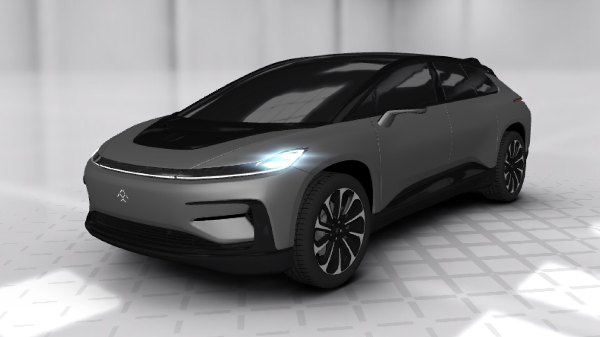 "Photo of Faraday Future offers ""3D Tour"" of first car model, FF 91"