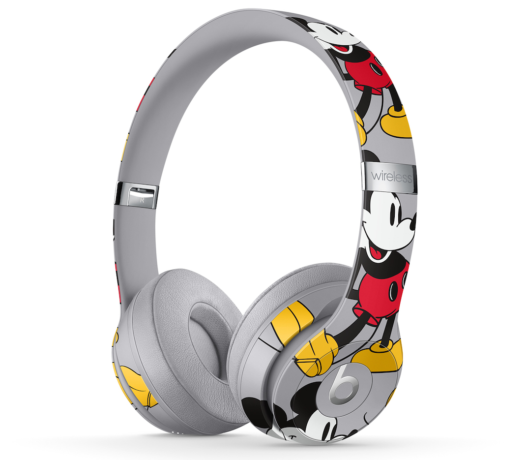 Photo of 90th anniversary release of Mickey Mouse headphones
