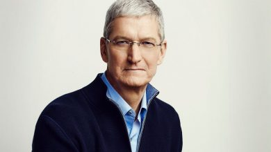 Photo of Tim Cook discusses augmented reality and healthcare during interview