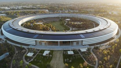 Photo of Eerie drone footage shows Apple Park Campus now empty